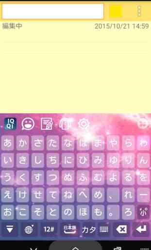IQQI Japanese Keyboard - Emoji 4
