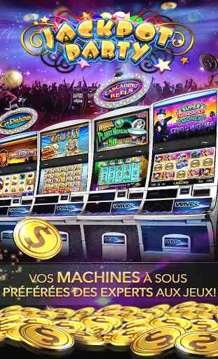 Jackpot Party Machines à Sous! 1