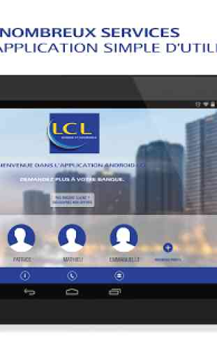Lcl Mes Comptes Pour Tablette Application Android Allbestapps