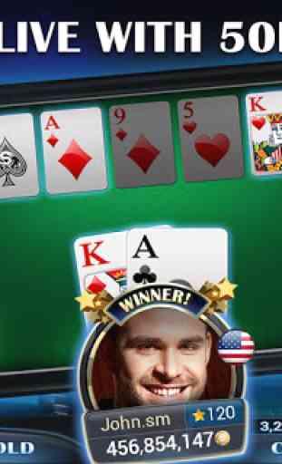 Live Holdem Pro Poker en ligne 3