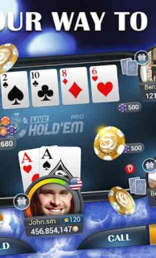 Live Holdem Pro Poker en ligne 4