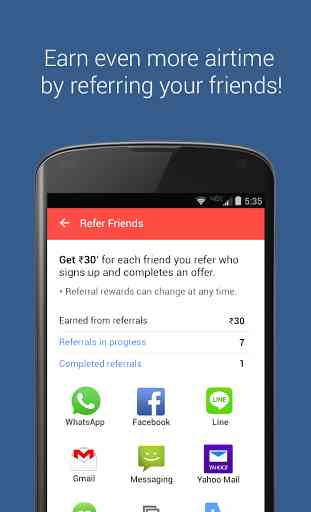 mCent - Free Mobile Recharge 4
