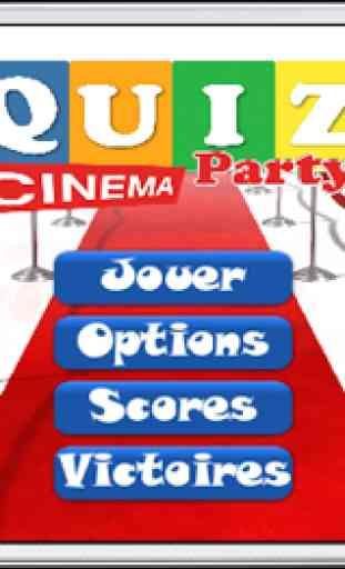 Quiz Party Cinéma 1