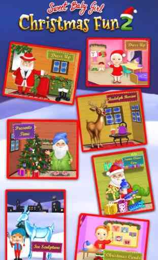 Sweet Baby Girl Christmas 2 1
