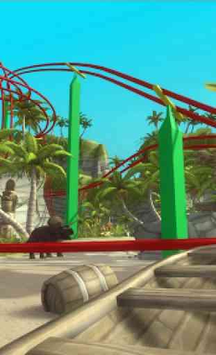 VR Jurassic RollerCoaster Park 2