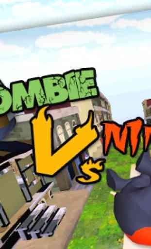 3D Zombie VS Ninja Sufers Run 4