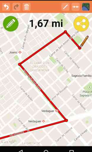 Map Distance Free 2