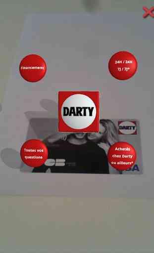 Carte 3D Darty 3