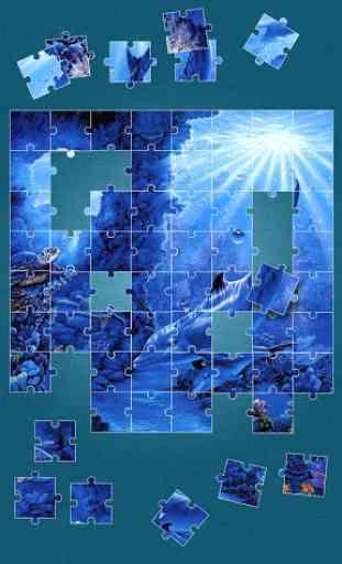 Dauphin Jeux de puzzle 3