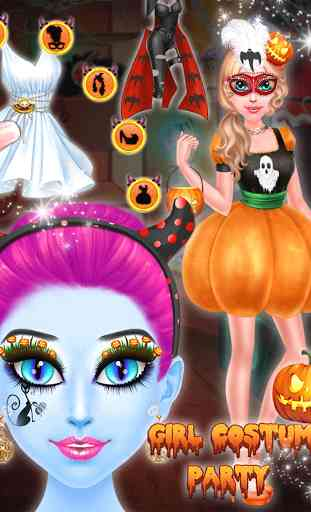 Halloween Girl Costume Party 3