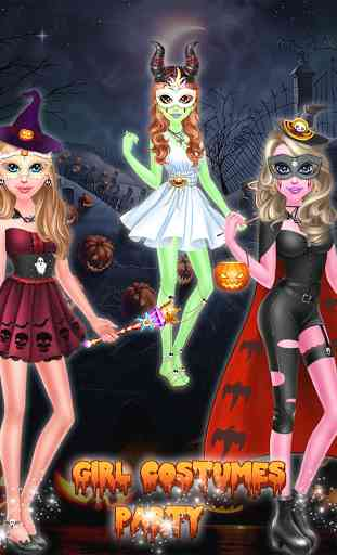 Halloween Girl Costume Party 4