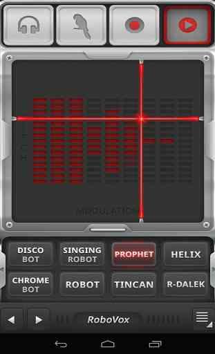 RoboVox - Changeur de Voix 4
