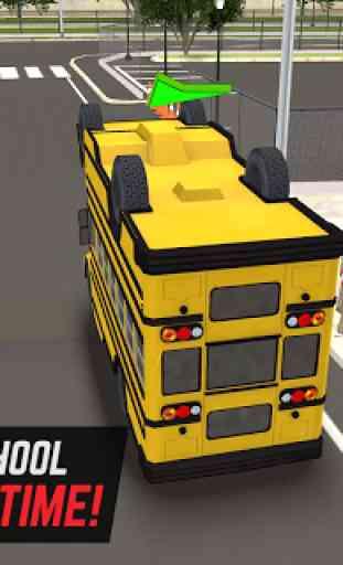 Super School Driver 3D 2