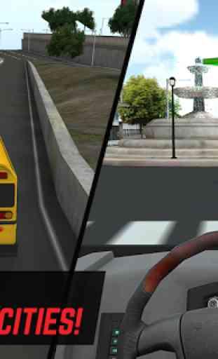 Super School Driver 3D 4