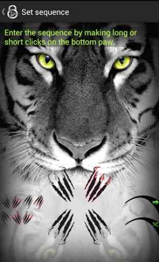 Verrouiller l'écran Tiger 3