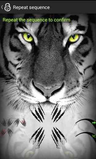 Verrouiller l'écran Tiger 4