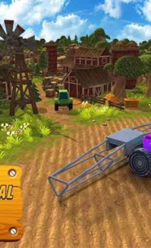 Harvest Farm Simulator Tractur 1