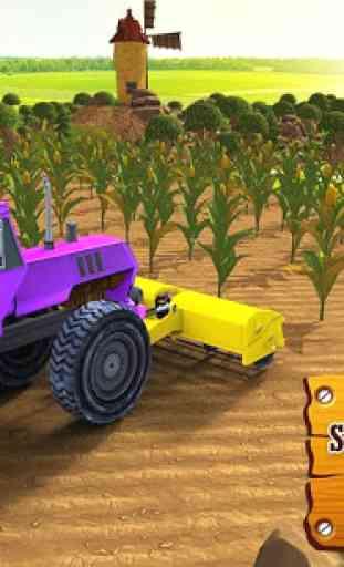 Harvest Farm Simulator Tractur 2