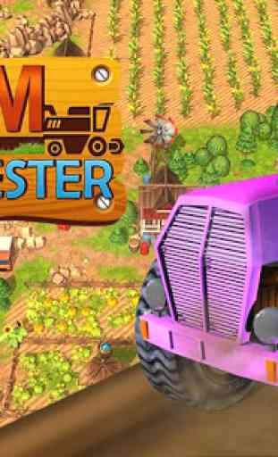 Harvest Farm Simulator Tractur 4
