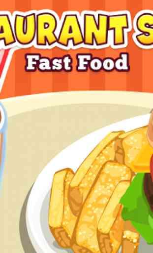 Restaurant Story: Fast Food 1