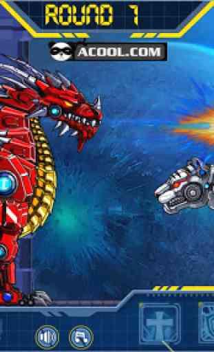 Toy Robot War:Robot Snow Tiger 1