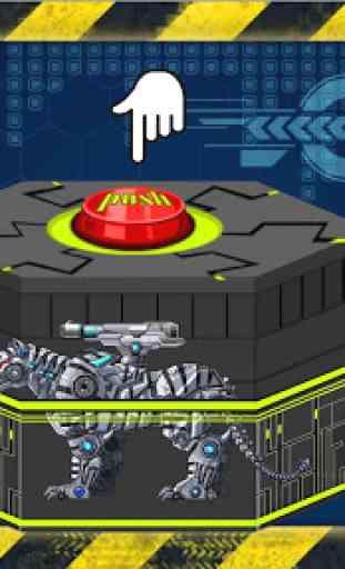 Toy Robot War:Robot Snow Tiger 2