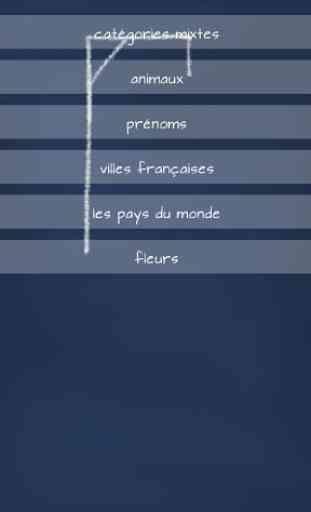 Pendu: Jeu Gratuit en Français 3
