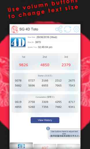 Singapore Pools Toto 4D Result 2