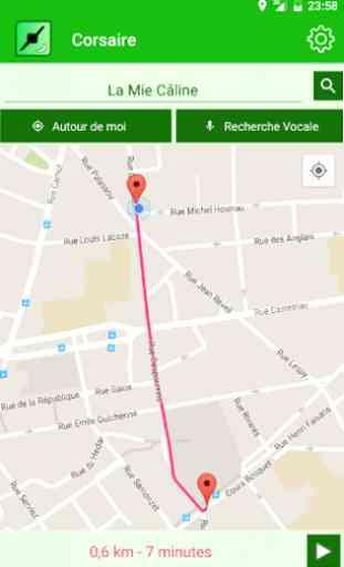 Corsaire GPS 1