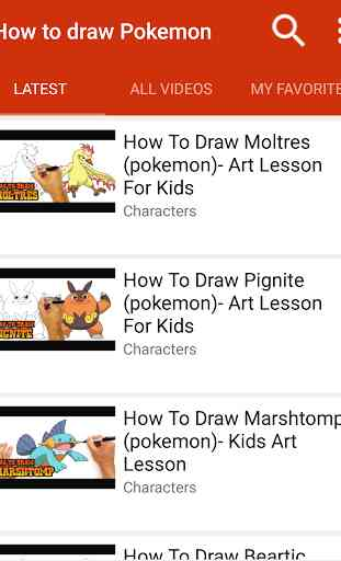 How to draw Pokeball 1