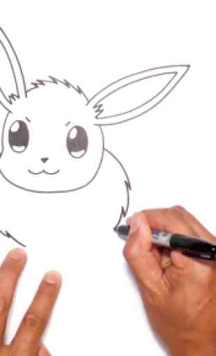 How to draw Pokeball 3