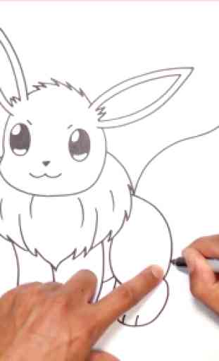 How to draw Pokeball 4