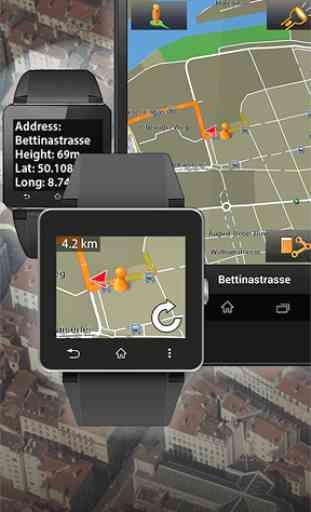NAVIGON Smartwatch Connect 1