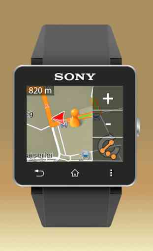 NAVIGON Smartwatch Connect 2