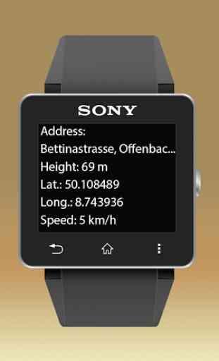 NAVIGON Smartwatch Connect 3