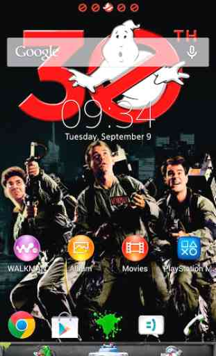 XPERIA™ Ghostbusters theme 1
