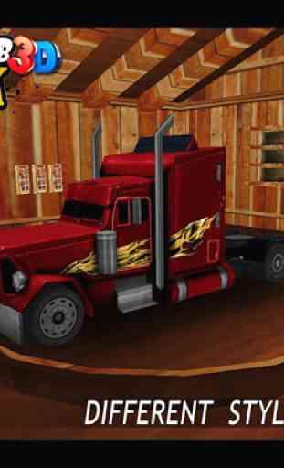 MMX Hill Climb Racing Truck 3D 2