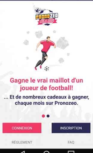 Pronozeo, pari sportif gratuit 1