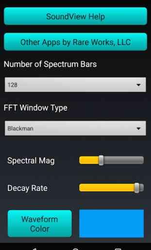 Sound View Spectrum Analyzer 3