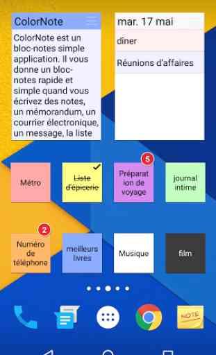 ColorNote Bloc-notes notes 2