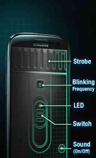 LED Lampe Super-Brillante 3