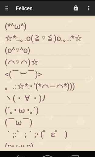 Japanese Emoticons ☆ Kaomoji 1