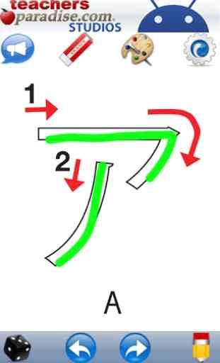 Japonaise écriture Katakana 4