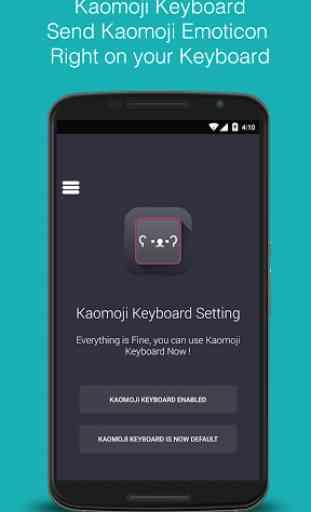 Kaomoji Keyboard 4