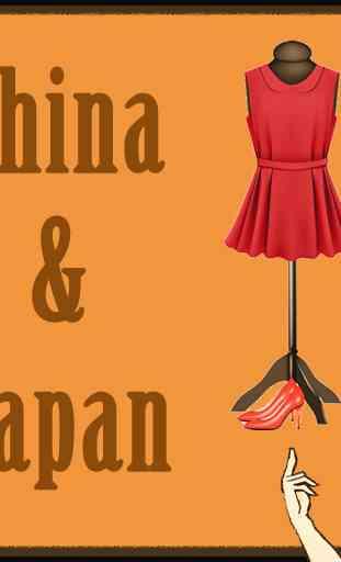 Modèles japonais d'habillage 1