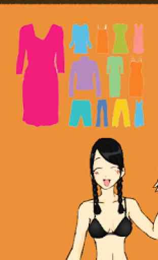 Modèles japonais d'habillage 2