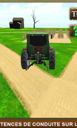 Réel Ferme tracteur Simulator 1