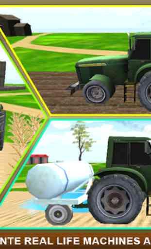 Réel Ferme tracteur Simulator 2