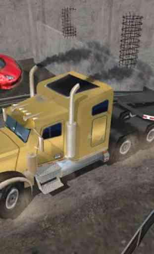 Tombereau Camionneur Simulator 2