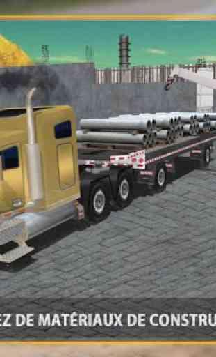 Tombereau Camionneur Simulator 4